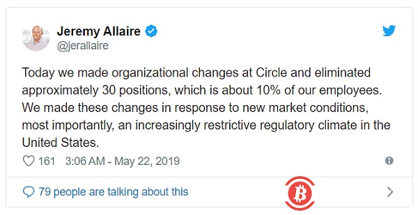 Financing target fell to 150 million US dollars, the circle is adjusting the structure after the market recovers
