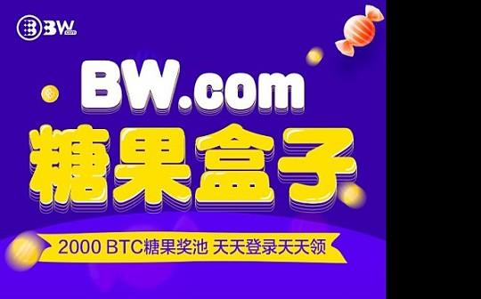 BW.com 2000BTC糖果奖池 每天登陆 每天领