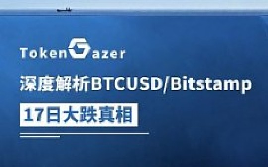 TokenGazer:深度解析BTCUSD/Bitstamp 5月17日大跌真相