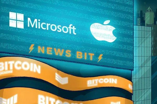 苹果和微软平台将引入比特币字符
