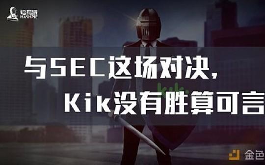 与SEC这场对决   Kik没有胜算