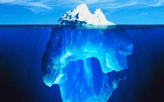 隐藏在交易所交易量海面下的冰山
