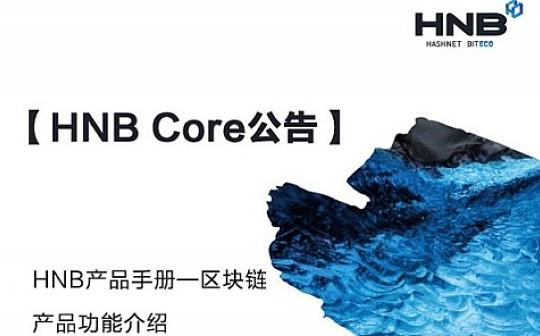 HNB产品手册—区块链产品功能介绍