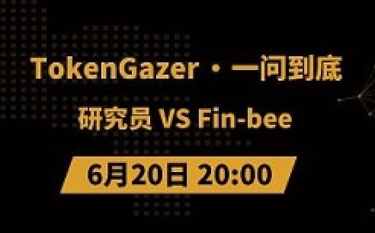 TokenGazer《一问到底》  第49期:研究员 VS Fin-bee