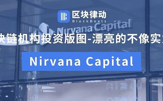 区块链机构投资版图-漂亮的不像实力派:Nirvana Capital