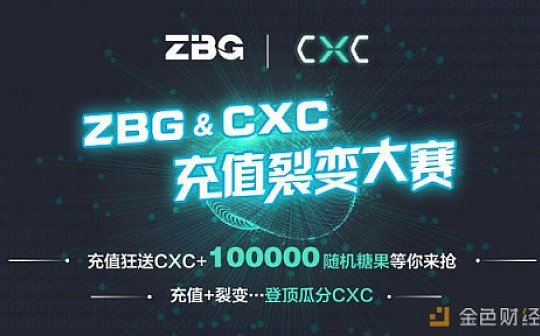 """CXC充值裂变大赛""登顶瓜分CXC——100000随机糖果等你来抢ZBG.COM"