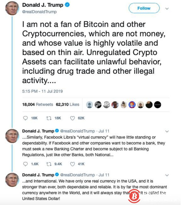 Bitcoin is a must for the 2020 US election.