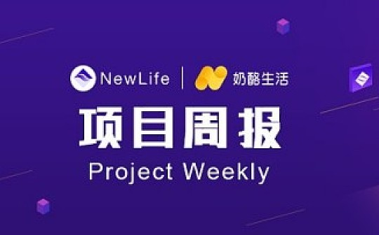NewLife奶酪生活项目周报(7.15---7.21)