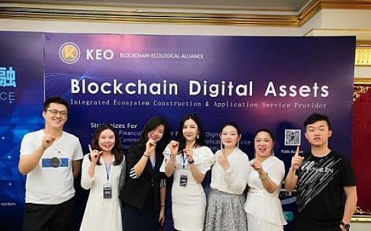 强强联合 KEO与WBFex达成深度战略合作