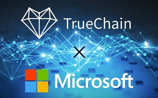 TrueChain 初链携手微软云领航区块链科技时代