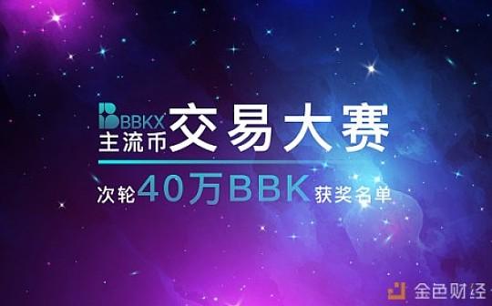 BBKX交易所主流币交易大赛次轮(2019.8.14-2019.8.15)获奖名单