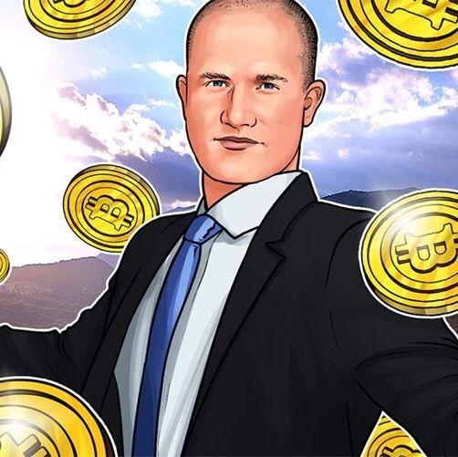 Coinbase首席执行官:机构每周都会存入2-4亿美元的加密资产
