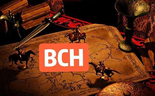 BCH前期筹码密集区震荡消磨 等待筹码换手