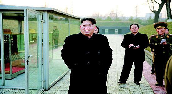 (朝鲜领导人金正恩周五在一份罕见的声明中表示)