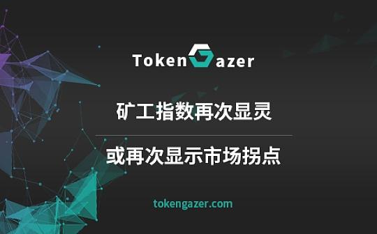 TokenGazer | 矿工指数再次显灵 或再次显示市场拐点