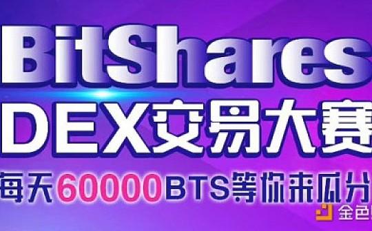 比特股交易大赛正式开启 每天瓜分6万个BTS