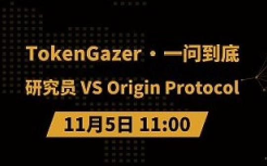 TokenGazer《一问到底》第57期:研究员 vs Origin Protocol