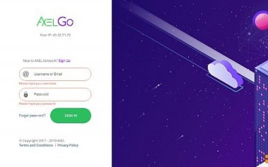 AXEL GO网页版已上线