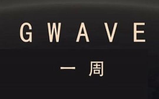 Gwave一周 | 本周数字货币总市值下跌  嘉楠科技在美国纳斯达克上市