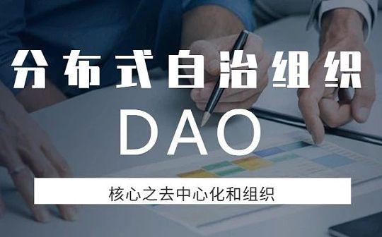 分布式自治组织DAO核心——去中心化和组织