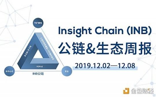 周报丨Insight Chain(INB)公链和生态周报(01.13-01.19)