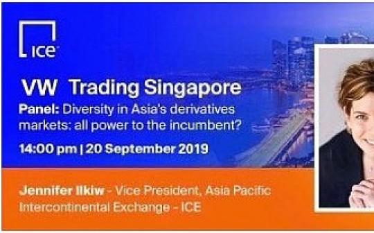 高层赴新加坡参加VW数字期权对冲系统交谈会