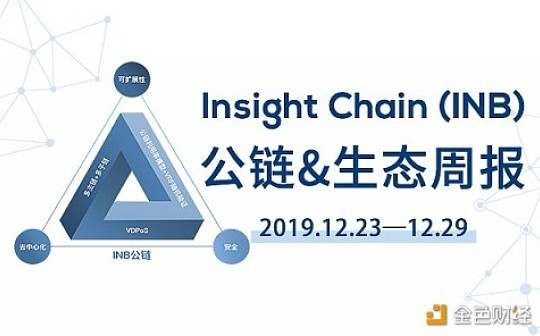 周报丨Insight Chain(INB)公链和生态周报(2019.12.23-2019.12.29)