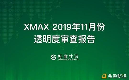 XMAX 2019年11月份透明度审查报告