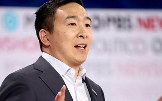 美國總統候選人Andrew Yang:需要統一的加密監管規則