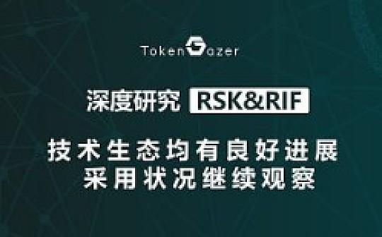 RSK/RIF:技术生态均有良好进展 采用状况继续观察