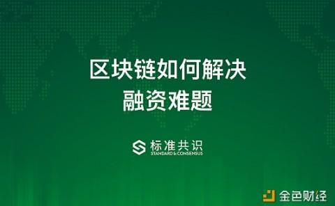 行业研报:区块链如何解决融资难题