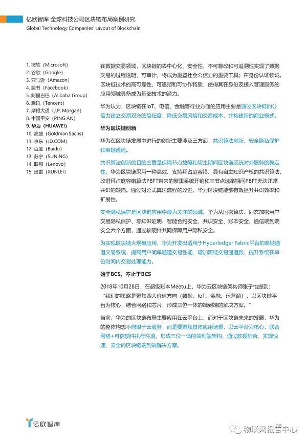 全球科技公司区块链布局案例研究报告插图34