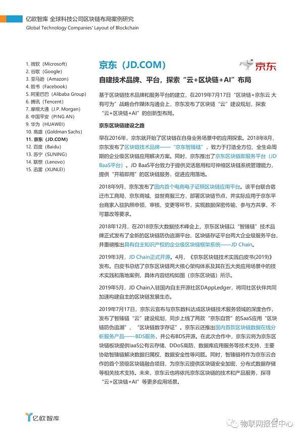 全球科技公司区块链布局案例研究报告插图39