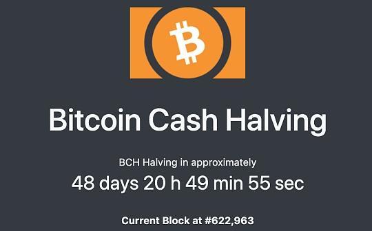 金色观察 | BCH减半倒计时48天:360°详解BCH