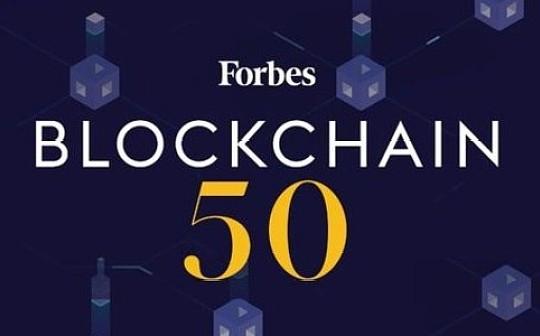 金色观察   福布斯发布区块链50强 这5家中国公司上榜(附榜单)
