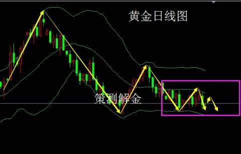 策测解金:11.6黄金涨跌分析,日内操作策略