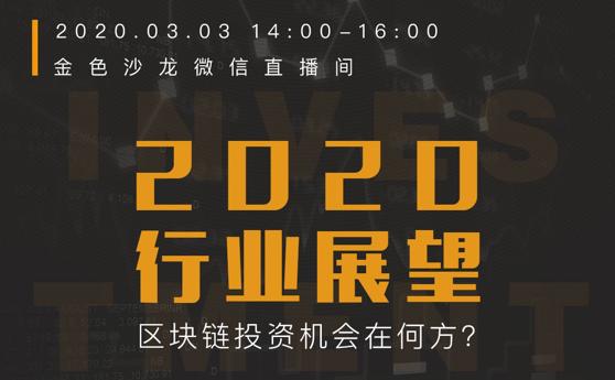 金色沙龙第43期线上版:2020行业展望——区块链投资机会在何方?
