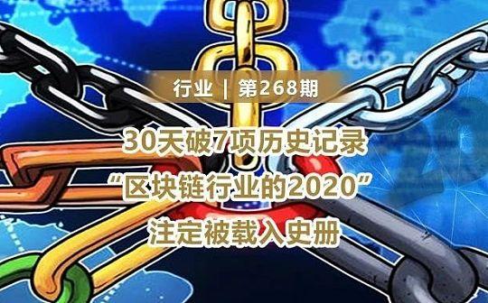 30天破7项历史记录  加密货币2020注定被载入史册