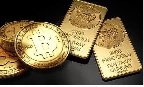 (事实证明 比特币依旧不能取代黄金价值储备的地位)