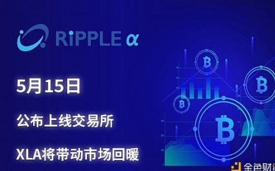 Ripple Alpha 交易所上线日程已确定 5月15日公布