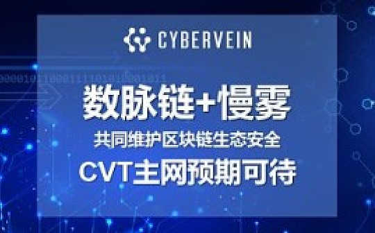 数脉链已向慢雾科技提交代码安全审计-主网预期可待