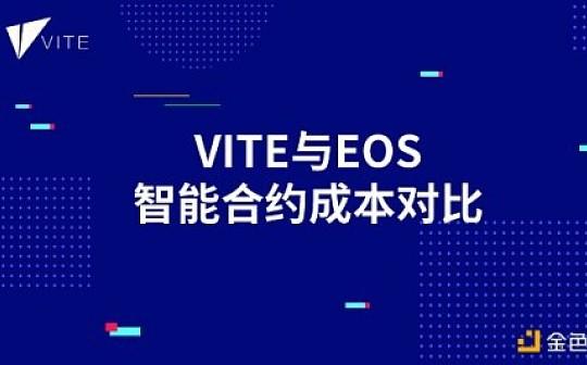 技术分享——Vite与EOS智能合约成本对比