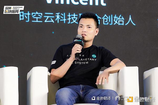 时空云科技联合创始人Vincent