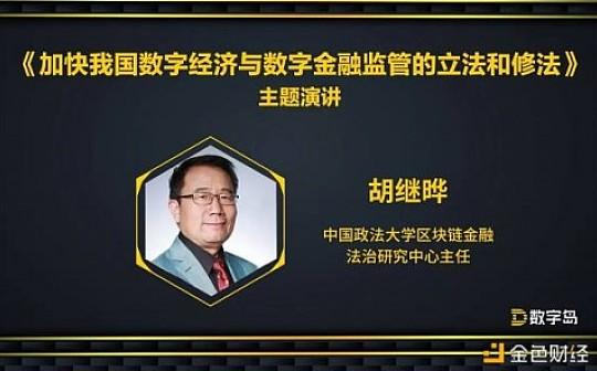 会议实录|胡继晔:发挥我国优势 把依法治网落实到区块链管理中