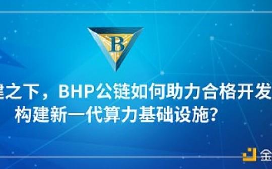 新基建之下  BHP公链如何助力合格开发者构建新一代算力基础设施?