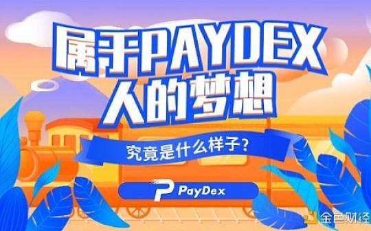 paydex的出现,让传统经济的数字鸿沟在区块链世界中完美契合