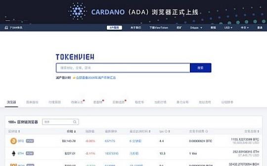 行业刚需:多币种聚合区块链数据查询工具Tokenview