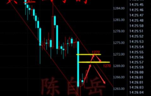 陈自岳:12.6黄金小幅反弹原油晚间EIA如何操作