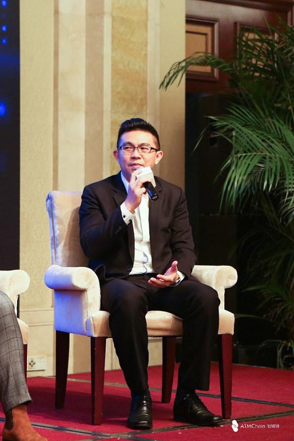 (马来西亚社区负责人袁源浩 图片来源:金色财经、智媒链)