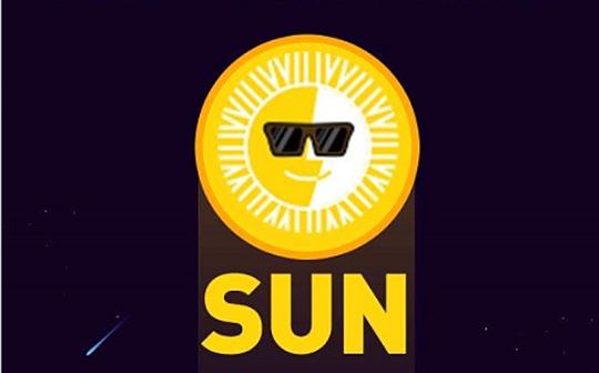 波场DeFi挖矿SUN太阳币今日中午释放 同时上线多家主流交易所 场外价格达到20-30U/枚
